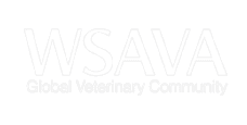 An association logo related to veterinary